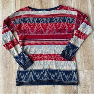 Lauren Jean Co. Luxe Christmas Sweater Womens Size Medium